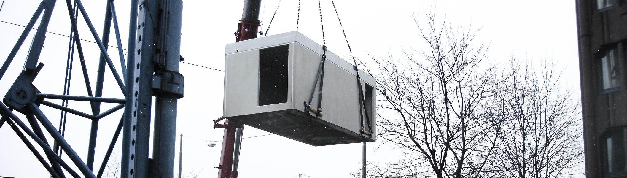 Notstromanlage Container